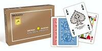 Modiano Bridge Ramino  Spielkarten GOLDEN TROPHY SET Plastik, Romme,Kanasta NEU!