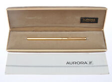 Aurora Hastil sfera oro gold ballpoint pen nuova new in box