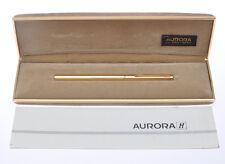 Aurora Hastil sfera oro gold ballpoint pen nuova new in box