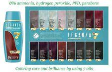 Leganza Colouring Conditioner Toner with 7 Natural Oils, Ammonia & Peroxide Free