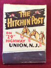 Feature Matchbook The Hitchin Post Union New Jersey