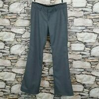 Banana Republic Womens Size 6 Rayan Fit Trouser Pants Gray Wool Blend Business