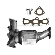 2001-2002 MAZDA 626 2.5L Catalytic Converter Firewall Side with Gaskets