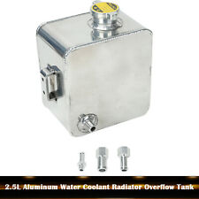 2.5L Aluminum Water Coolant Radiator Overflow Recovery Tank Universal Expansion