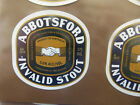 VINTAGE AUS BEER LABEL. CARLTON & UNITED - ABBOTSFORD INVALID STOUT 375ML 22IS