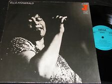 ELLA FITZGERALD same / DDR blue Label Reissue LP 1978 AMIGA 855055