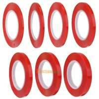 4/5/6/8/10/12/15mm x25m Red Double Side Adhesive Tape Glue for Touch Screen LCD
