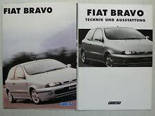 Prospekt Fiat Bravo, 9.1995, 8 Seiten, folder + Technik/Ausstattung