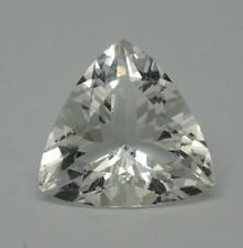 3.85ct Natural Loose Goshenite Fancy Trillion Cut ,(white beryl) VVS (AAA)