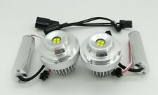 NEW BMW 5 Series Facelift E60 LCI Xenon White LED Angel Eyes Rings - 60W Cree