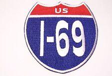 #0629 Motorcycle Vest Patch US I-69
