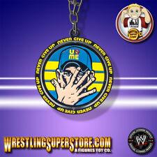 WWE John Cena Never Give Up Reversible Spinning Pendant