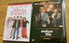 Lot of 2 Robert De Niro Dvds Movies Meet The Fockers & Analyze This NEW SEALED