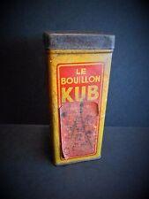 PETITE BOITE BOUILLON KUB / ( avec étiquette prix)