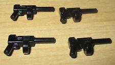 Lego Star Wars Zubehör - Gewehr/Pistole 4 Stück Schwarz - x1608