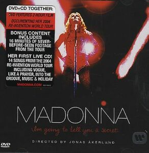 Madonna - I'm going to tell you a secret cd /dvd