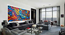 jane crawford  Australia landscape canvas painting aboriginal inspired design