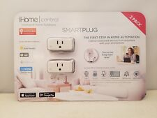 iHome | Control Intelligent Home Solutions | Smartplug | 2 Pack | iSP5CC2 | NEW