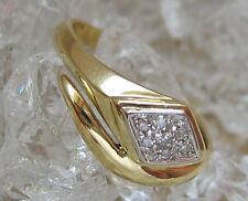✨🌹 Schlangenring in aus Gold Ring mit Brillant Schlange mit Brillanten Diamant
