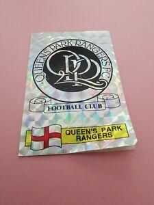 Panini UK Football 1986 #247 QPR Badge Foil