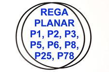 2X COURROIES REGA PLANAR P1 P2 P3 P5 P6 P8 P25 P78 EXTRA FORT NEUF TOURNE DISQUE
