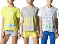 adidas x Stella McCartney Women's Stellasport Printed T Shirt Gym Yoga Fitness