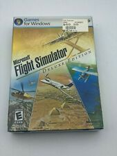 Microsoft Flight Simulator X Deluxe Edition PC 2006 Brand New Sealed Windows