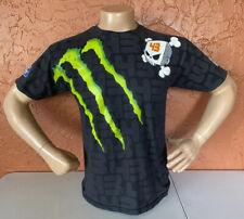 DC Shoes Monster Ken Block 43 Ford Rally Racing Logo All Over Print Shirt Sz M