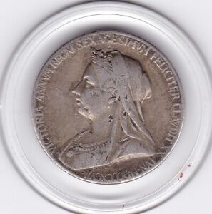 1897  Sterling  Silver  Diamond  Jubilee  Medal