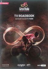 2017 GIRO D'ITALIA ITALY BROADCAST TV ROADBOOK ENGLISH CYCLING NO TOUR DE FRANCE