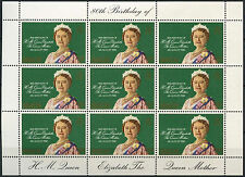 Gibraltar 1980 Queen Mothers 80th Birthday MNH Sheetlet #R743
