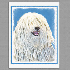 6 Puli Dog Blank Note Greeting Cards
