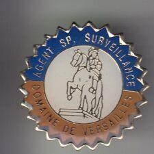 RARE PINS PIN'S .. POLICE SURVEILLANCE TEAM CHATEAU CASTLE VERSAILLES 78 ~C3