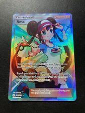 Pokemon Card - Cosmic Eclipse -  ROSA 236/236 Full Art Trainer - Mint