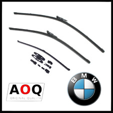 KIT 3 SPAZZOLE TERGICRISTALLO  BMW SERIE 1, 2, 3, 4, 6, 7 Ant+Post FLAT