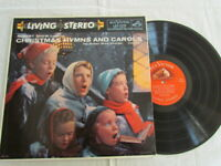 Robert Shaw,Christmas Hymns And Carols,Vinyl lp,RCA Victor,Red Seal,Volume 1