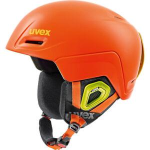 Uvex Jimm de Montage Casque de Ski UNI6 Orange Mat 52-55cm Neuf ! Scellé