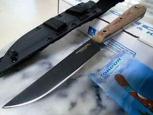 Condor Skirmish Fixed Blade Dagger Knife 1075 HC 5mm Full Tang Kydex Micarta New