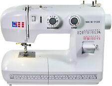 Freiarm Nutzstich-Nähmaschine LED 19 Programm viel Zubehör Knopflochautomatik