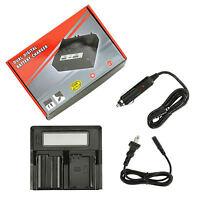 EN-EL15 + USB Dual Charger for Nikon D500 D600 D610 D750 D7000 D7100 D7200 G