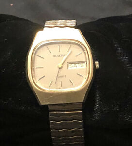 Rare Vintage Bulova Quartz P1 Wrist Watch for Men