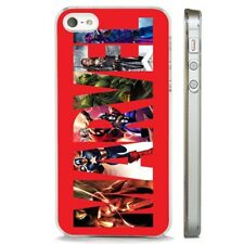 The Avengers Marvel Super Hero CLEAR PHONE CASE COVER fits iPHONE 5 6 7 8 X