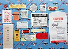 1957 Buick Decal Kit | Set of 17