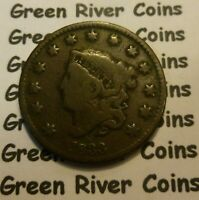 1833 Large Cent   #AA33
