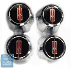 1974-87 Oldsmobile Cutlass / 442 SSIII Snap On Center Caps - Rocket - Set of 4  for sale