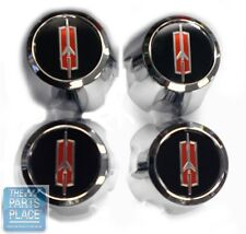 1974-87 Oldsmobile Cutlass / 442 Ssiii Snap On Center Caps - Rocket - Set of 4 (Fits: Oldsmobile)