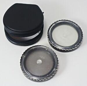 HOYA Slim Filter Set for Camera Lens PL 55 mm and HOYA 55 mm UV 0 made Japan