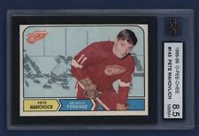1968-69 O-Pee-Chee #143 Pete Mahovlich KSA 8.5 NMM+ Detroit Red Wings NICE!!