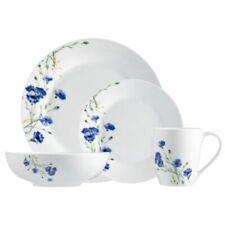 Dinnerware Set Safdie & Co. Dinner Plates Bowls Mugs White Floral Garden 16 PCS