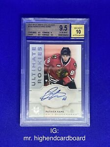 07-08 Ultimate Collection Patrick Kane Rookie Auto /99 BGS 9.5 10 Auto 2007-08